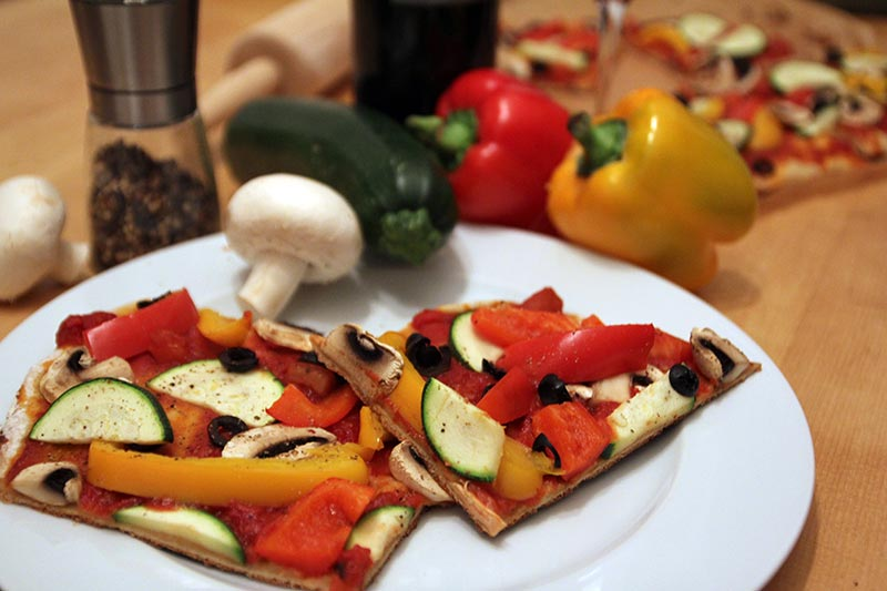 Rezept Pizza vegan