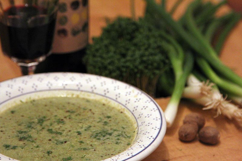 Rezept Broccoli Kokos Suppe vegan