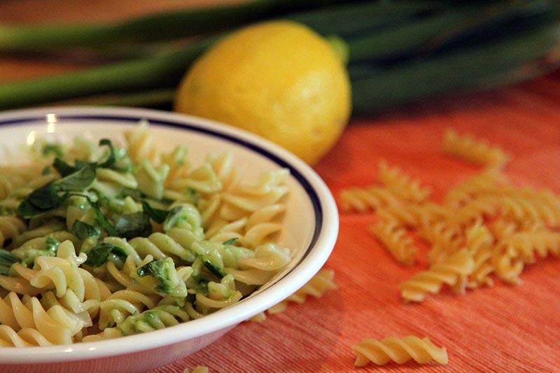Rezept Frühlingszwiebel Pesto