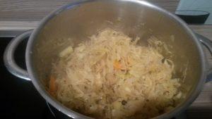 Sauerkraut wuerzen