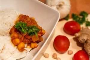 Rezept Kichererbsen Curry