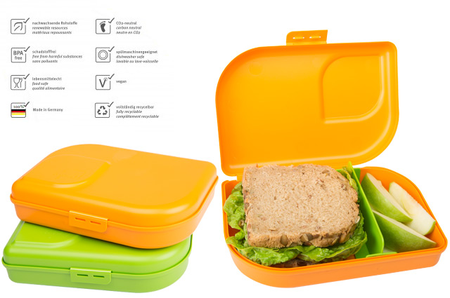 Die Brotdose ohne Plastik