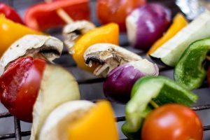 Grillspieße mit dreierlei Marinaden (Vegan Grillen)