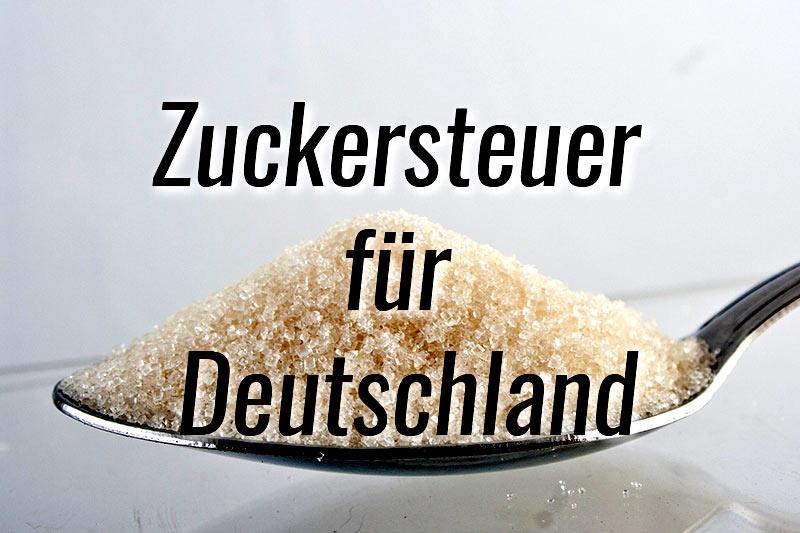 Zuckersteuer für Deutschland im Gespräch