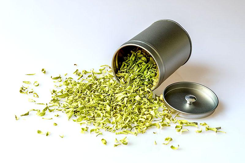 Grünen Tee richtig lagern