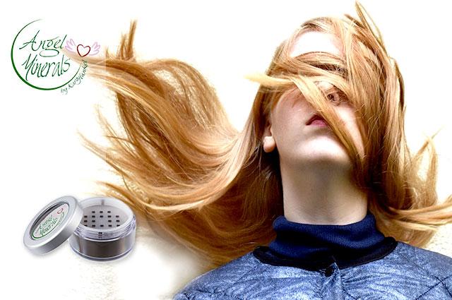 Der vegane Hair Concealer von Angel Minerals