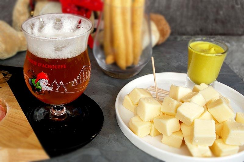 Seltsam: Bier und Käse sind jetzt gesund!?