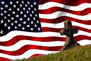 Flagge USA Grab