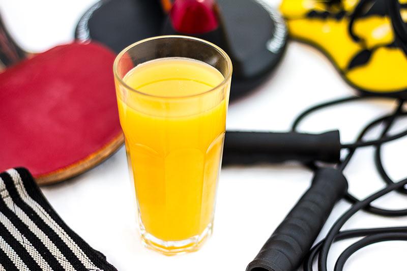 isotonisches Getränk Sportgetränk selber machen
