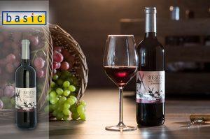 Veganer Wein Bio-Qualität Besito Tempranillo basic