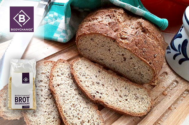 Low-Carb Eiweißbrot selber backen