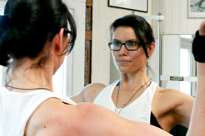 Veganes Bodybuiling Svenja Salewski