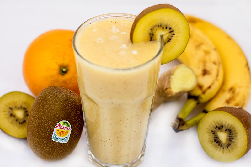 Golden Kiwi Smoothie
