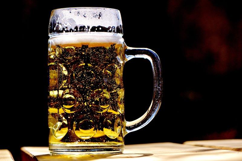 Deutschland Alkoholiker Bier Krug