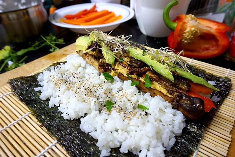 Nori Noriblätter Sushi rollen