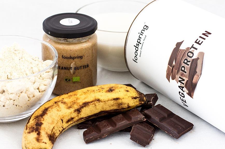 Protein Schoko Muffin Zutaten
