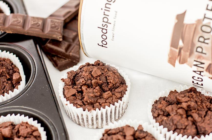 Protein Schoko Muffin