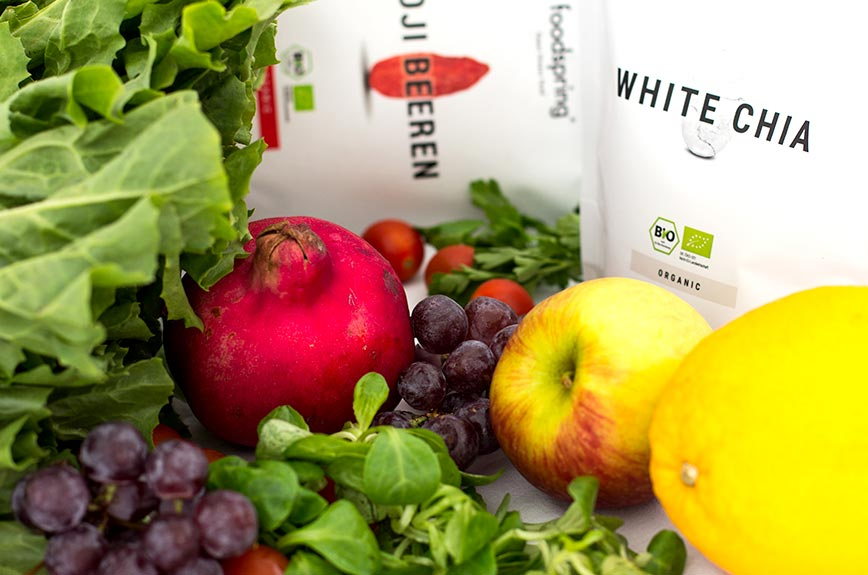 Fitnesssalat Superfoods Rezept Zutaten