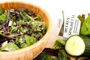 Gurkensalat Meeresspaghetti Algamar