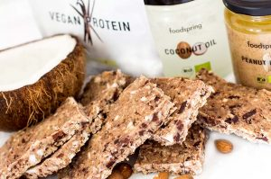 Protein Power Riegel Rezept