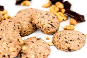 Schoko-Cashew-Cookies (zuckerfrei)