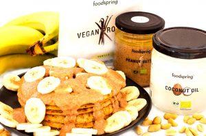 Protein Pancakes zuckerfrei vegan