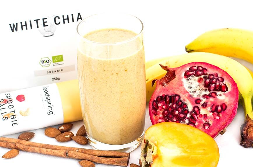 Winterlicher Chia Smoothie