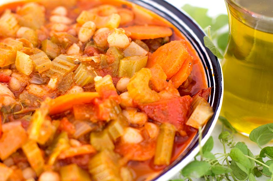 Fasolada Rezept vegan