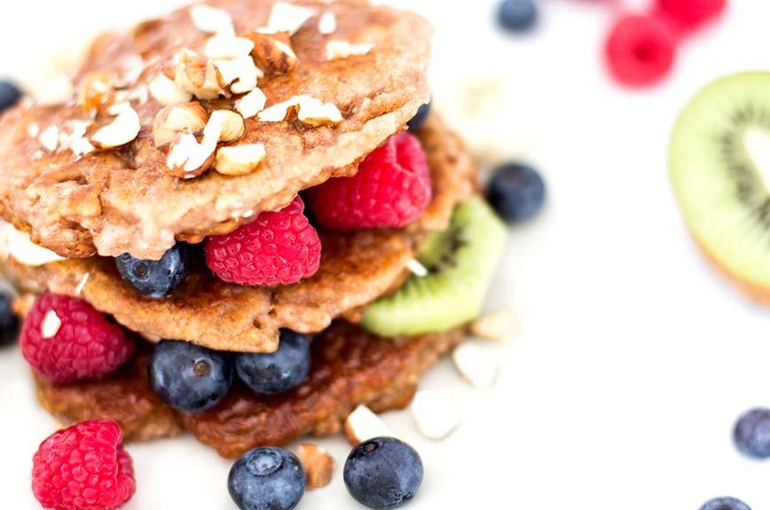 Chia Pancake rezept vegan
