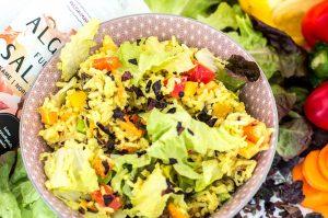 Curry-Reissalat Algen