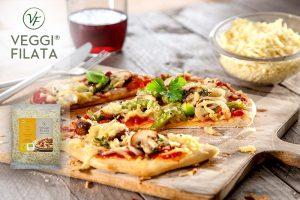 Veganer Pizza-Reibekäse