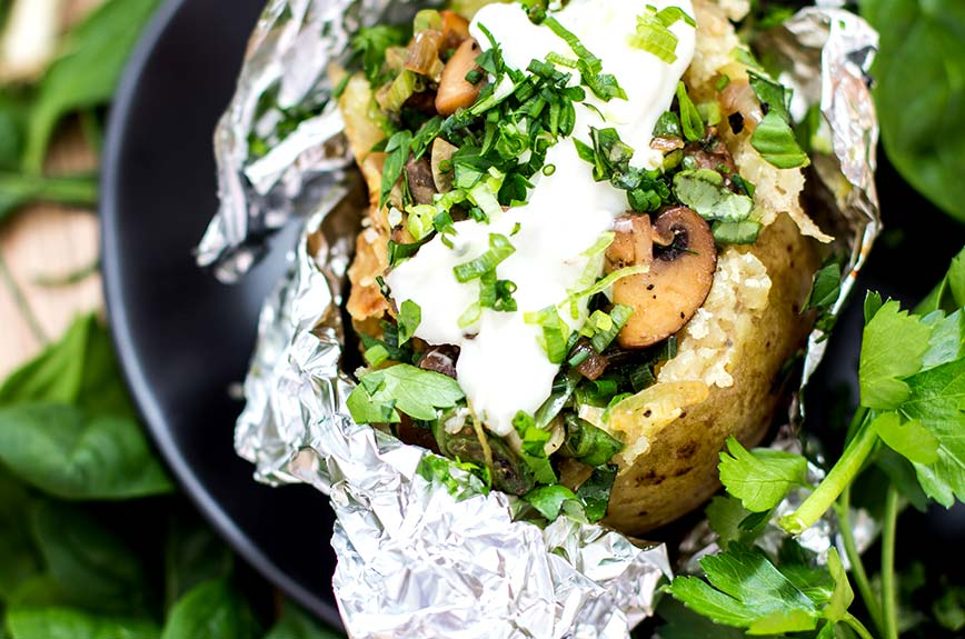 Kumpir Backkartoffel Rezept vegan