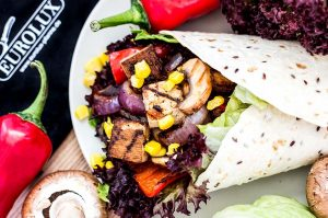 Vegan BBQ Wrap