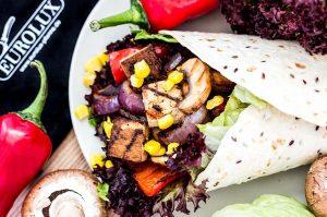 Vegan BBQ Wrap Rezept