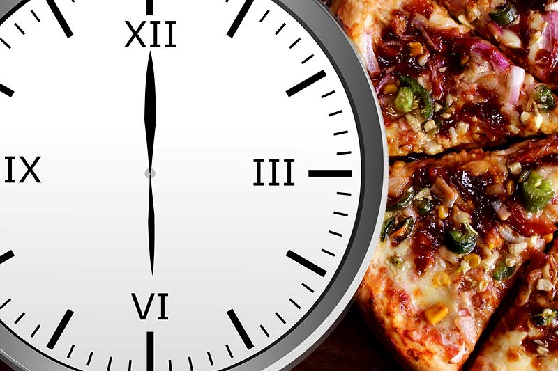Was nach 18 Uhr essen