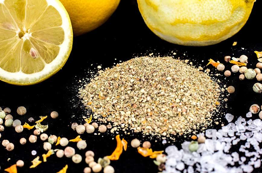 Zitronenpfeffer selber machen