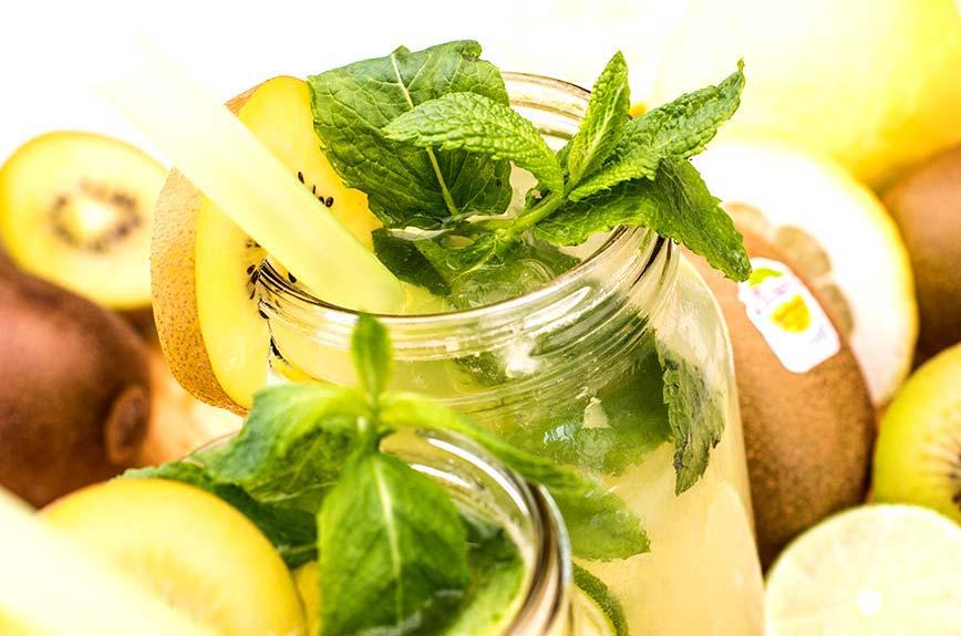 Kiwi Limonade Rezept