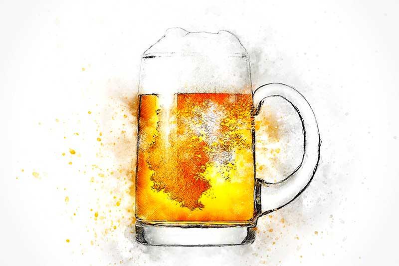 Plastik im Bier
