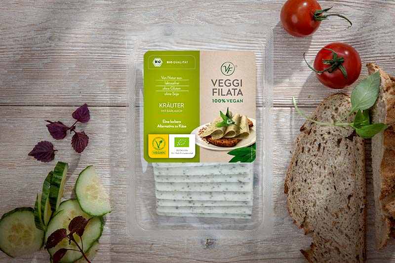 Kraeuterkaese vegan Veggi Filata