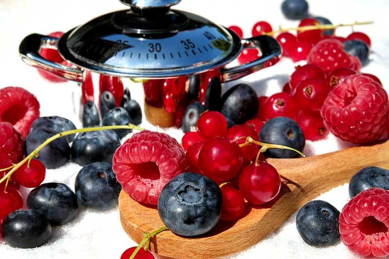 Saison gesunden Früchte