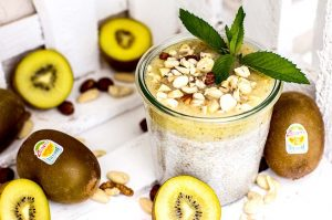SunGold Kiwi Chia Pudding