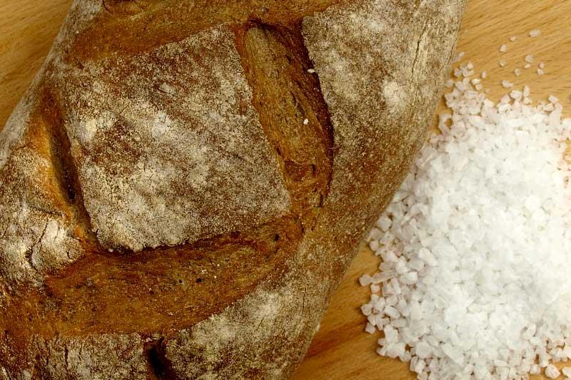 Brot Salz Einzug
