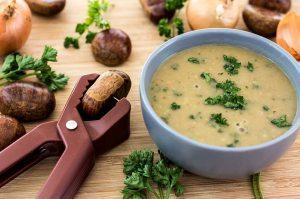 Maronensuppe Rezept vegan