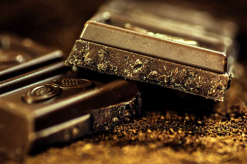 Vitamin-D-Mangel Schokolade