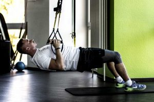 Rudern am TRX Band / Sling Trainer