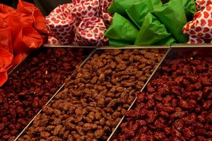 Weihnachtsmarkt Süßigkeiten