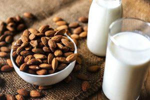 veganer Milchersatz Mandelmilch Umwelt