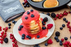 Fluffy vegan Pancakes (zuckerfrei)