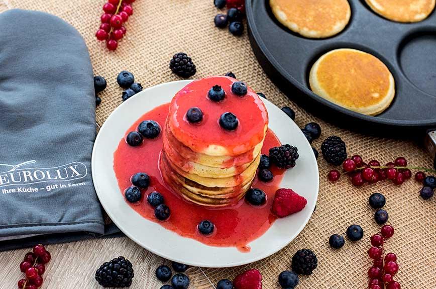 Fluffy Pancakes vegan Rezept