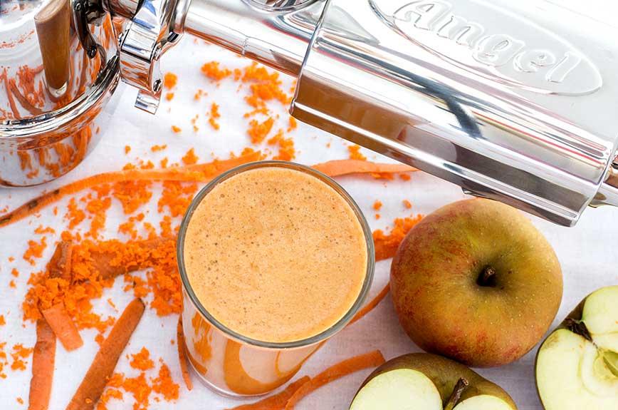 Karotten Apfelsaft